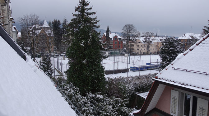 Winter comes for… one day!